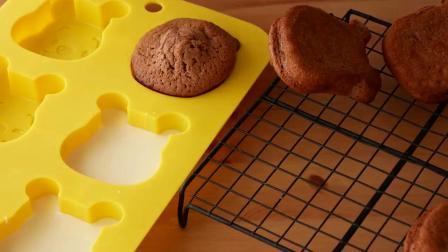 烘焙大师教你制作美味小熊蛋糕,学会了做给小朋友吃