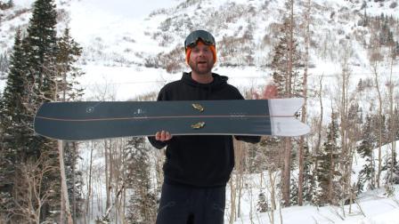 Nitro Squash Review Men's All-Mountain Winner – Good Wood Snowboard