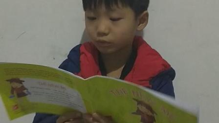 我是山姆大叔少儿英语教育Judy老师的学生Louis我坚持每天读英语,今天是#山姆大叔少儿英语英文阅读节#的第一季第3天