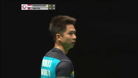 2019马来西亚羽毛球大师赛最佳反手