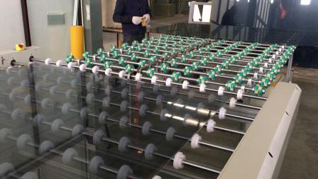 AG玻璃清洗贴膜机 防炫光玻璃贴膜AG蚀刻玻璃蒙砂玻璃贴膜液晶面板玻璃