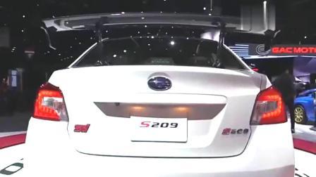 新款斯巴鲁汽车上市了,竟然是手动挡,怎么回事