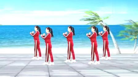 最简单易学的8步广场舞,视频教学,不怕学不会