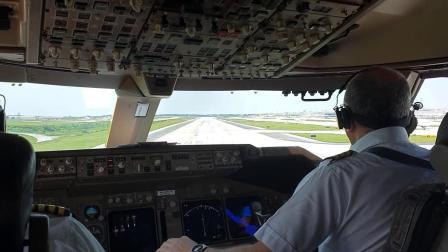 驾驶舱,CAL Cargo744亚特兰大(ATL)重载起飞