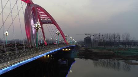 牡丹江桥夜景