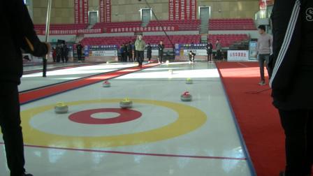 天奥陆地冰壶在比赛中的表现