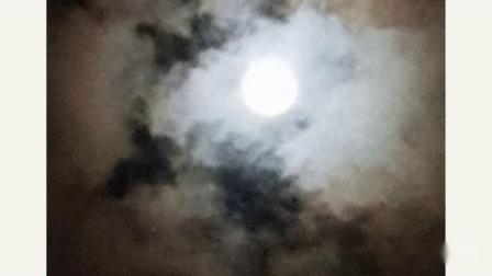 超级月亮+血月的月蚀!