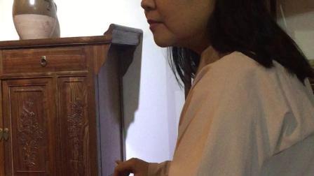 一首陕西人一听就会的古琴曲《忆长安》,秦腔调,忒色很。