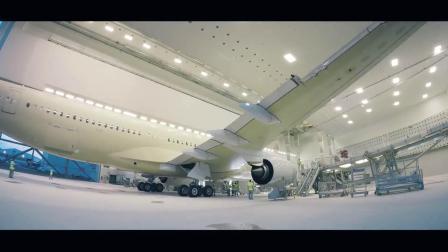 官方,全球首架A350延程型从总装到交付新加坡航空