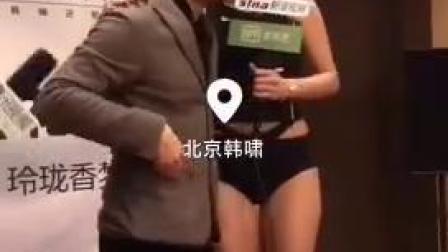 北京棉花糖丰胸结束,模特小姐姐尽显T台风采