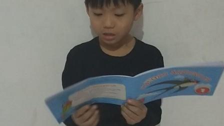 我是山姆大叔少儿英语教育Judy老师的学生Louis我坚持每天读英语,今天是#山姆大叔少儿英语英文阅读节#的第一季第5天