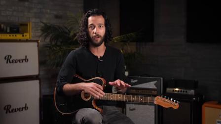 Fender 电木混合吉他 Acoustasonic Tele