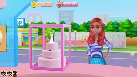 芭比的烘焙店 制作唯美的结婚蛋糕