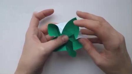 漂亮的创意手工折纸花,做法很简单还是立体的,手工折纸视频
