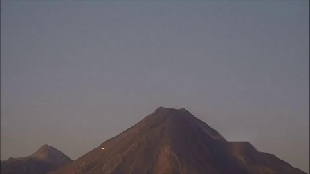 UFO seen in Mexico near volcano Popocatepet