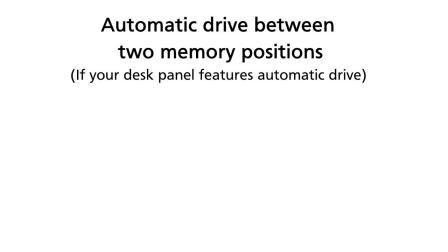 力纳克办公系列—如何使用桌面板 DPG1M记忆功能和自动移动功能