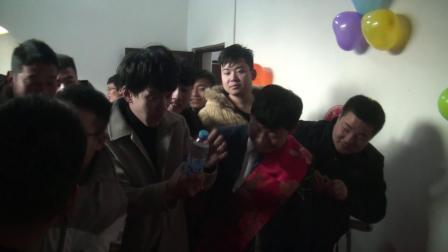 洋洋庆典陕西省华阴市上营安乐乐杨莎婚礼上集