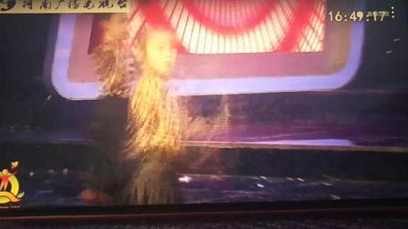 扬扬拉丁舞参加2019年河南电视台法制频道少儿春晚节目《动画城》