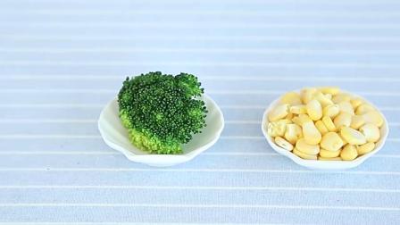 玉米鲜虾软饼制作方法,适合10个月宝宝辅食