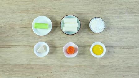 彩蔬鸡肉条制作方法,适合10个月宝宝辅食