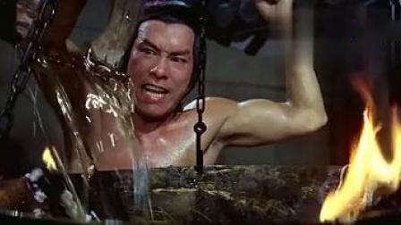 早期的一部武侠老电影,雍正偷入少林寺学武功,还要闯十八铜人阵