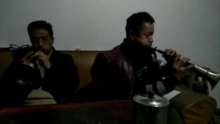 贵州省麻江县宣威铜古冲 吴和贵 吴光生 联手唢呐。