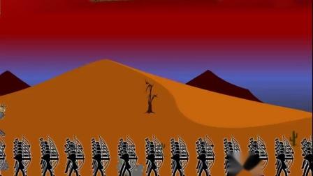 大海哥解说火柴人战争:派出1000弓箭手,用实力征服敌军!
