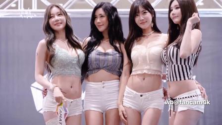 韩国美女车模非常活泼可爱,举手投足之间让人