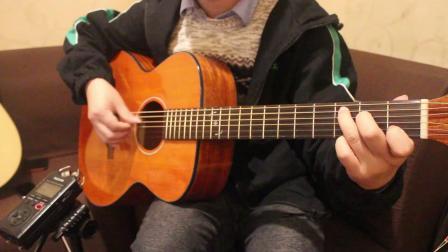 超简单吉他指弹《小猪佩奇》 骚骚的指弹
