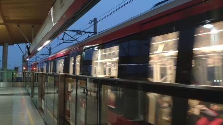 【南京地铁】2号线增购列车NJ02-ZG出仙鹤门站vvvf(ois光学防抖)