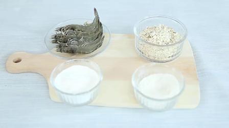 燕麦棒棒虾制作方法,适合18个月宝宝辅食