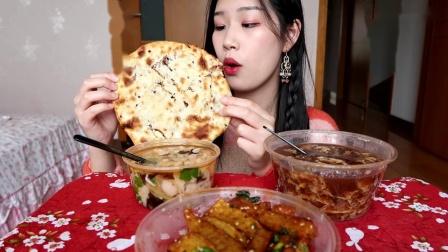 【吃播】街边小吃~狼牙土豆,温州瘦肉丸,姜汁调蛋,缙云烧饼! - 1 - 原速