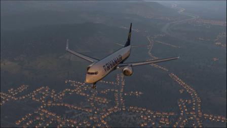【X-plane11】 黄昏落地奥地利因斯布鲁克机场