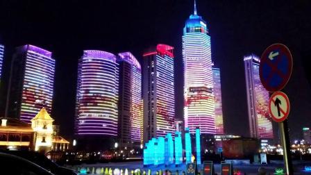 震撼了大烟台大动作超越青岛终于有了自己的灯光秀看看家乡美吧