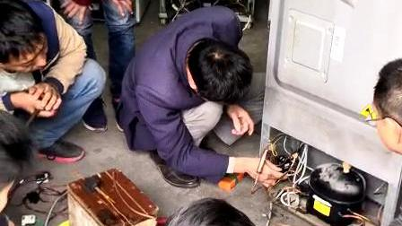 空调制冷常见故障维修培训班 洛阳机电学校