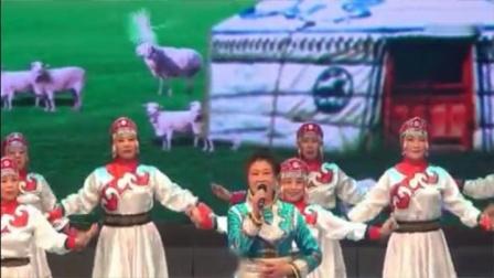 歌伴舞《鸿雁》市老年大学民舞二班表演