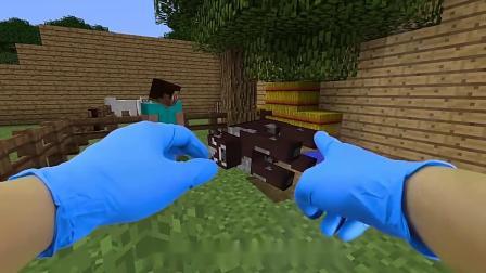 真人我的世界:卷毛工作中遇到麻烦,请了能变成蚂蚁的大春帮忙!