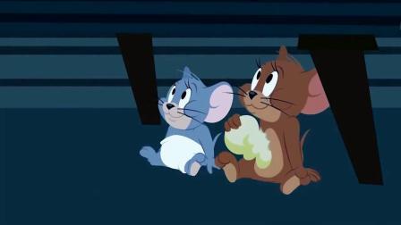 猫和老鼠精彩搞笑视频,布奇把汤姆引诱到地下