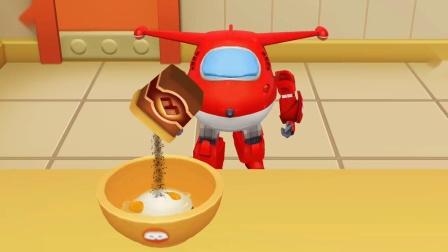 超级飞侠 乐迪迷彩蛋糕不要忘记放抹茶粉呦!游戏