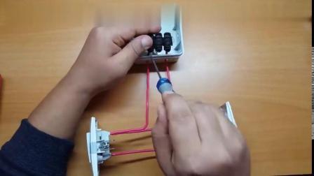 家庭装修布电线-不同的地方开同一盏灯如何实现双控