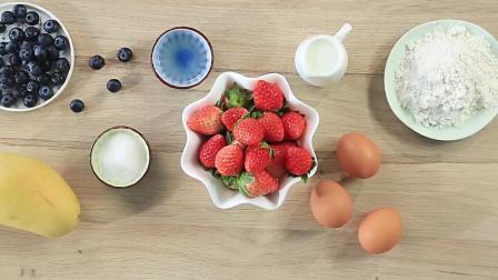 水果裸蛋糕制作方法,适合18个月宝宝辅食