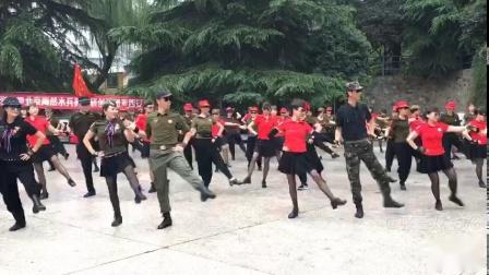 第九套陶然亭水兵舞 张玉龙团与陶然亭创编舞团共舞