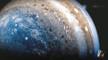 NASA朱诺号太空飞船近距离的拍摄木星之美,看得让人无法呼吸