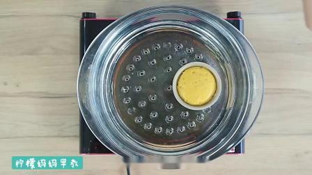南瓜燕麦发糕制作方法,适合10个月宝宝辅食