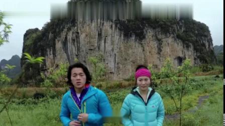 攀岩牛人挑战中国白山,没想到手底一滑,小哥