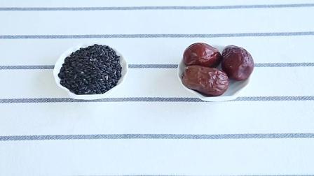 枣泥黑米糕制作方法,适合10个月宝宝辅食