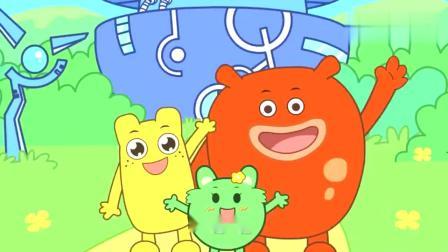 咕力动画:彩虹消失的彩虹糖
