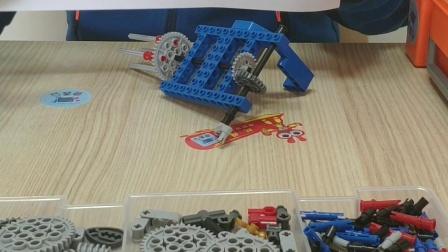 [机器人包老师]全国青少年机器人技术等级考试一级搅拌器实操模型介绍 玩得趣科教俱乐部