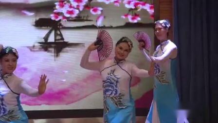 19年1月21日南岗社区迎春演出,舞蹈:江南丽人 (北京丰台阳光艺术团舞蹈队)