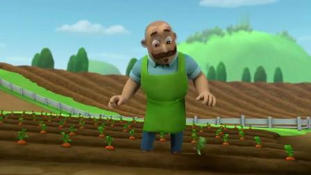 汪汪队立大功农夫由美的红萝卜竟长进土里了,还可以动,太奇怪了